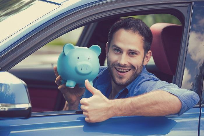 man happy with Arizona Auto Loans