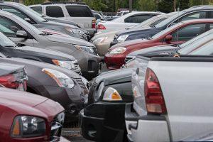 parking lot full of used cars in phoenix az