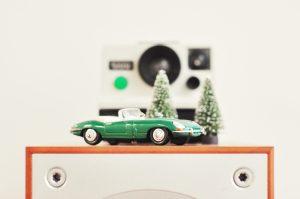 holiday model convertable car