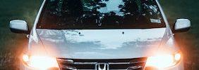 White Honda